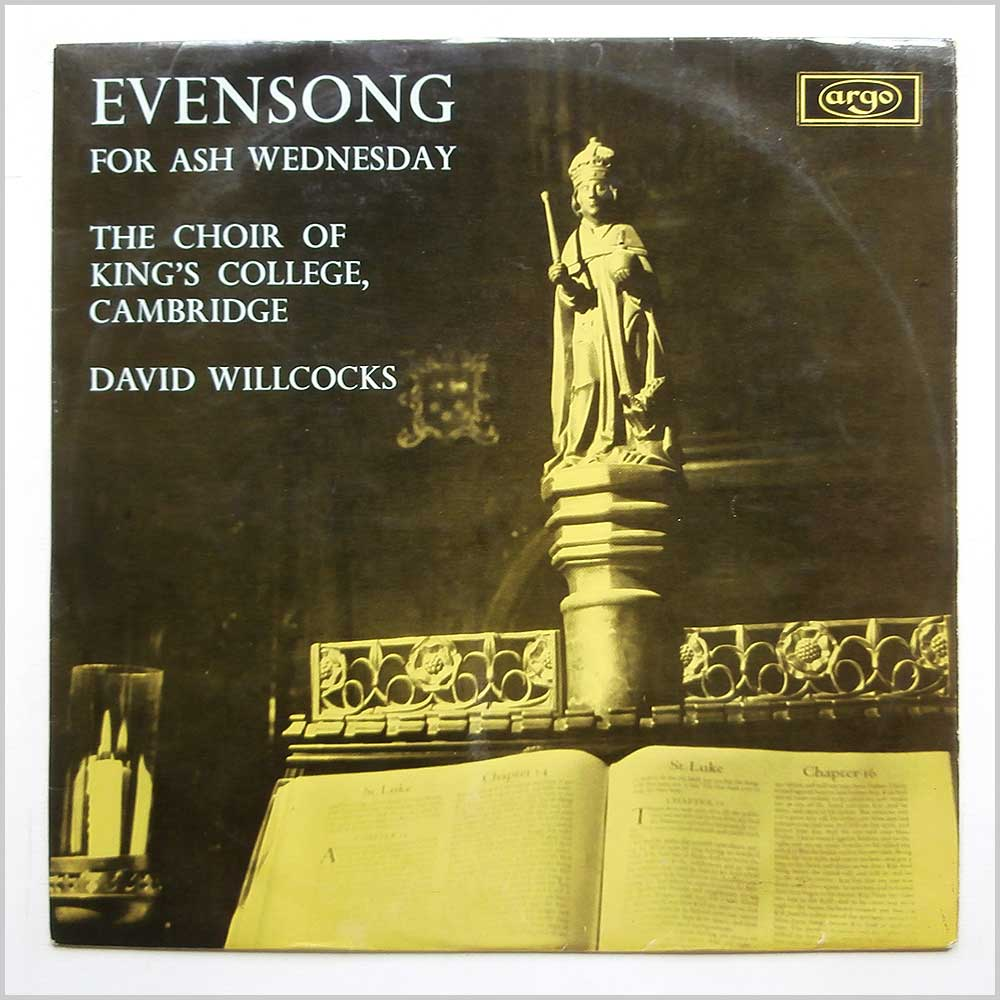 The Choir Of King's College Cambridge - Evensong For Ash Wednesday (RG 365)