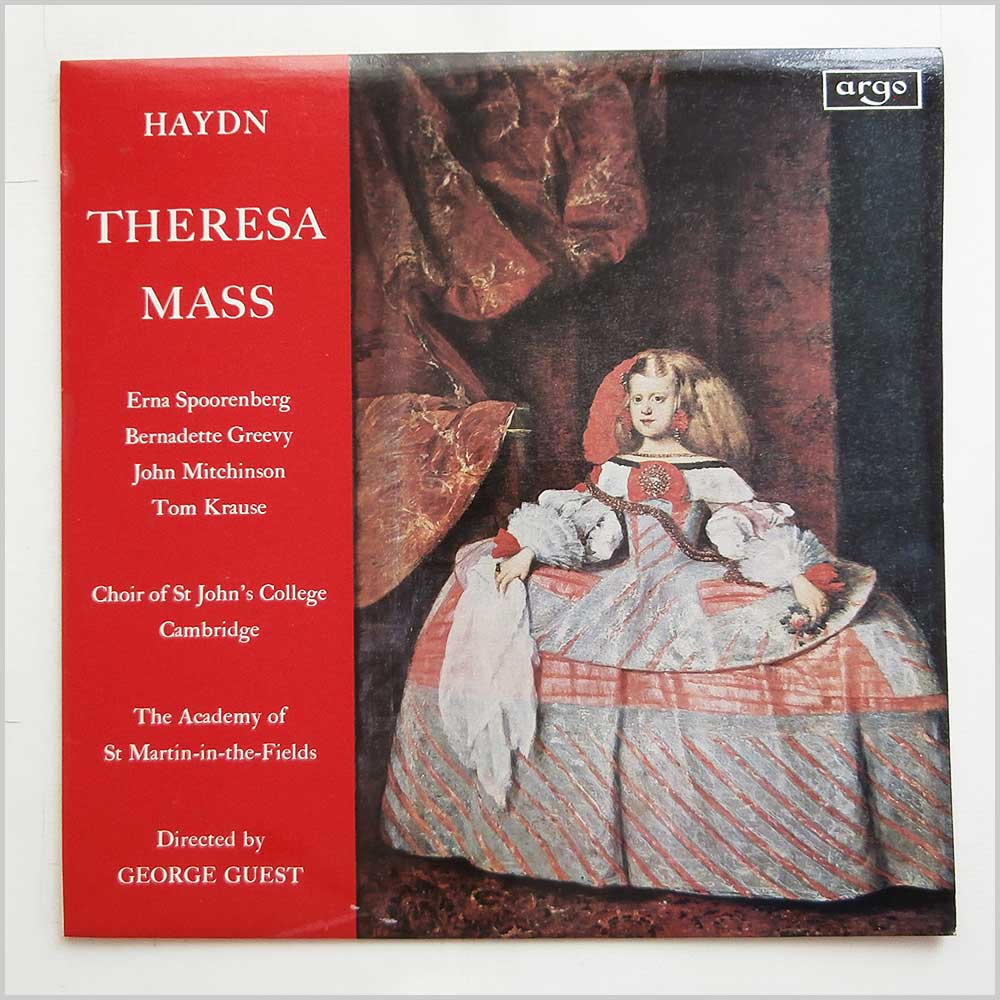 Choir Of St. John's College Cambridge - Haydn Thersesa Mass (RG 500)