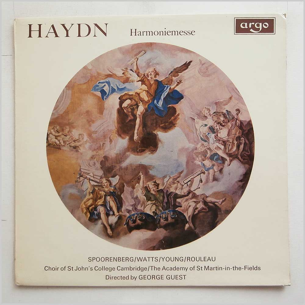 Choir Of St. Johns College Cambridge - Haydn Harmoniemesse (RG 515)
