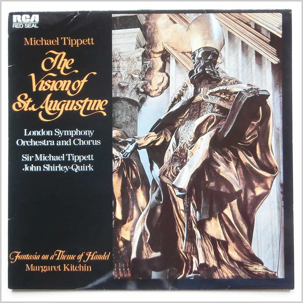 Michael Tippit and The London Symphony Orchestra - The Vision Of St. Augustine, Fantasia On A Theme Of Handel (RL89498)