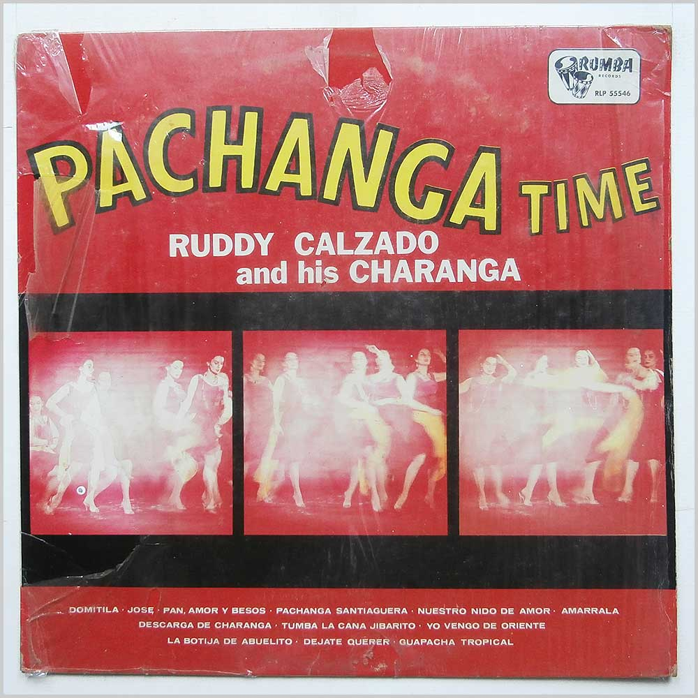 Ruddy Calzado And His Charanga - Pachanga Time (RLP 55546)