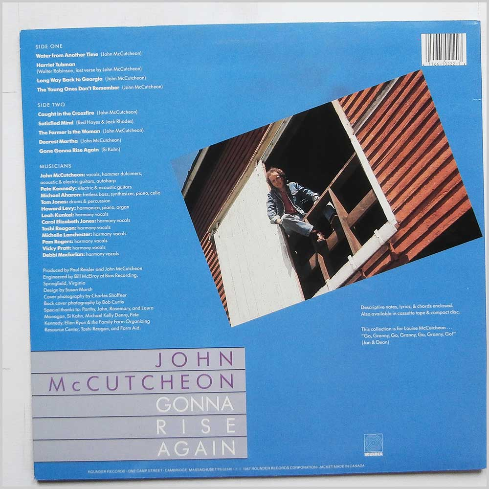 John McCutcheon - Gonna Rise Again (Rounder 0222)