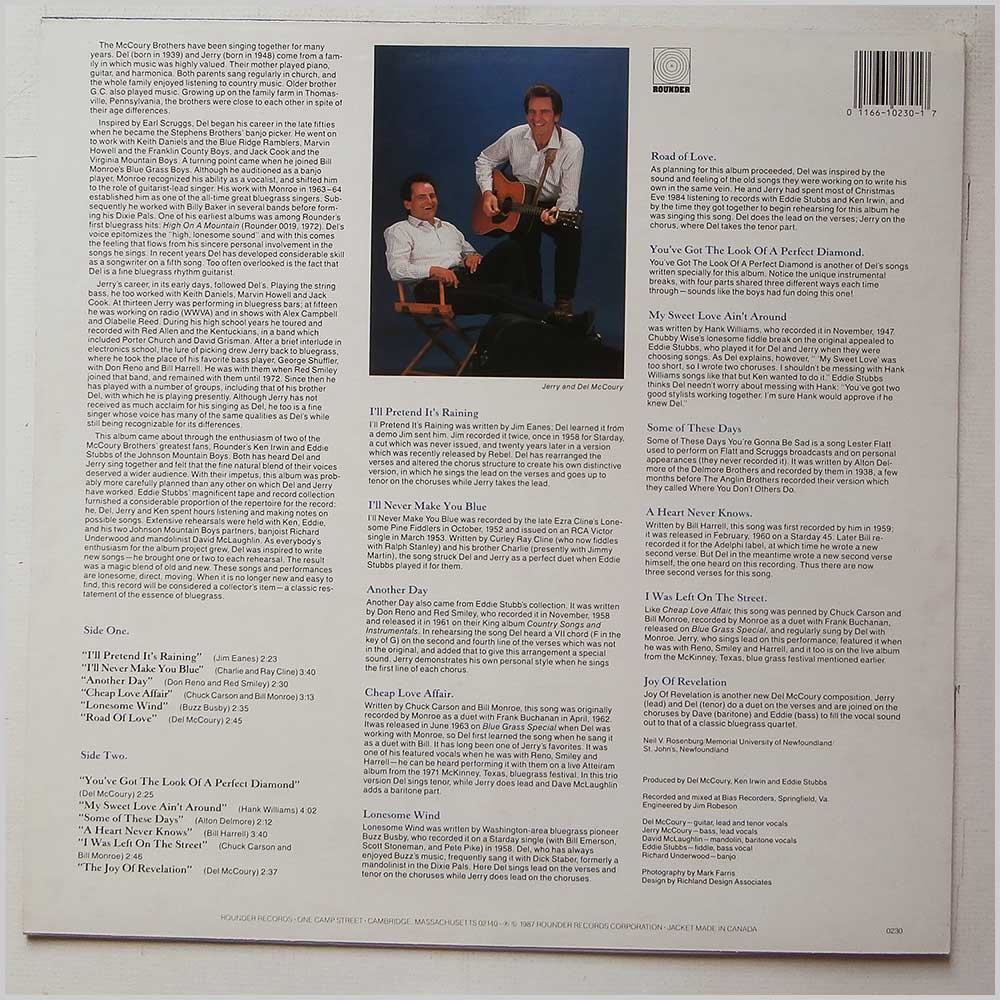 The McCoury Brothers - The McCoury Brothers (ROUNDER  0230)