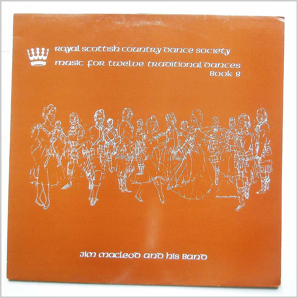 Jim MacLeod And His Band - Music For Twelve Scottish Country Dances Book8 (RSCDS 10)