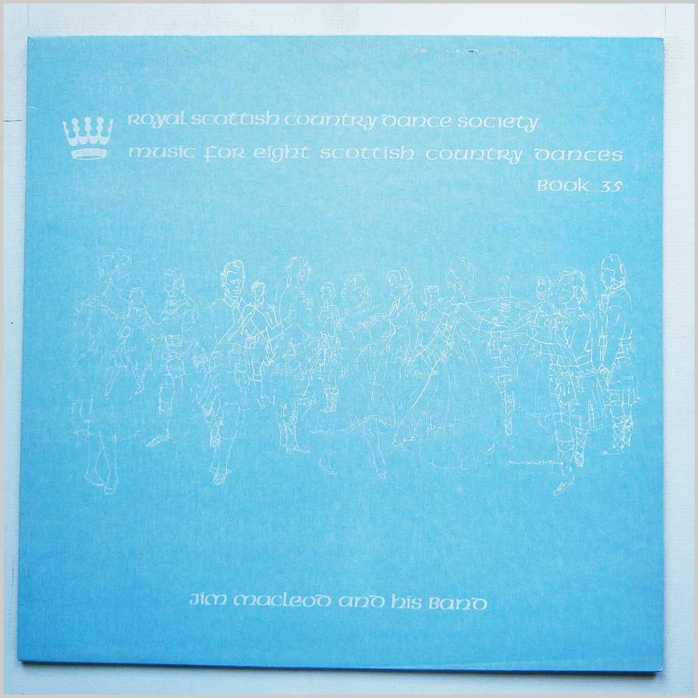 Jim MacLeod And His Band - Music For Eight Scottish Country Dances Book 35 (RSCDS 28)