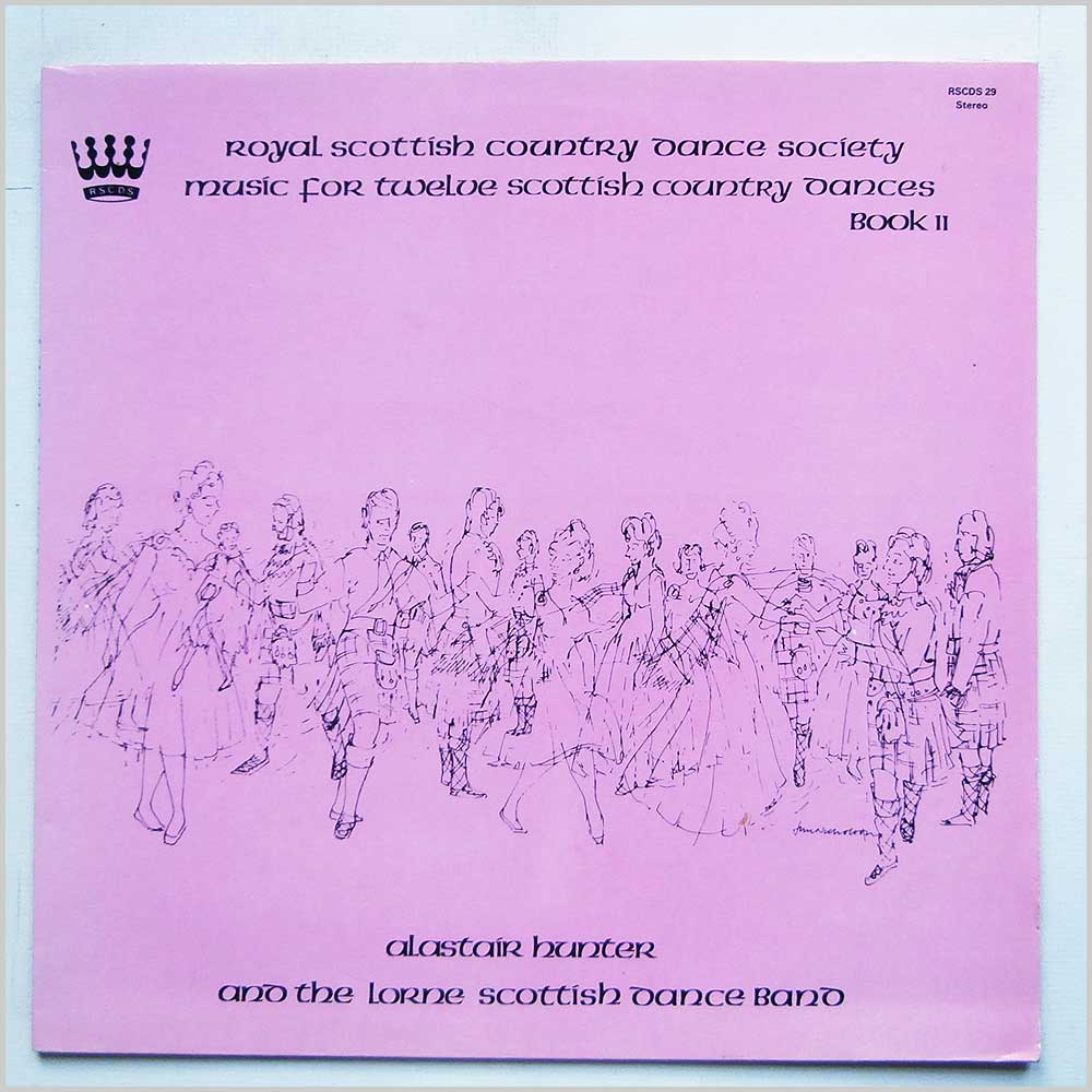 Alastair Hunter And The Lorne Scottish Dance Band - Music For Twelve Scottish Country Dances Book 11 (RSCDS 29)