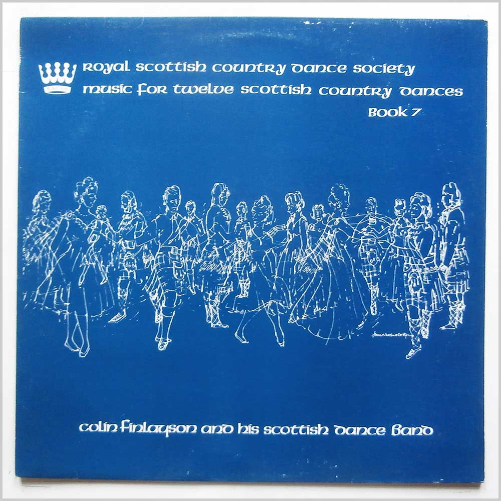 Colin Finlayson And His Scottish Dance Band - Music For Twelve Scottish Country Dances Book 7 (RSCDS 9)