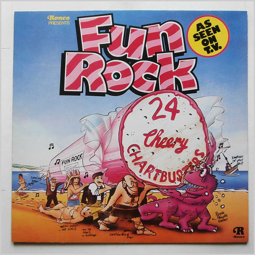 Various - Fun Rock 24 Cheery Chsrtbusters (RTL 2015)