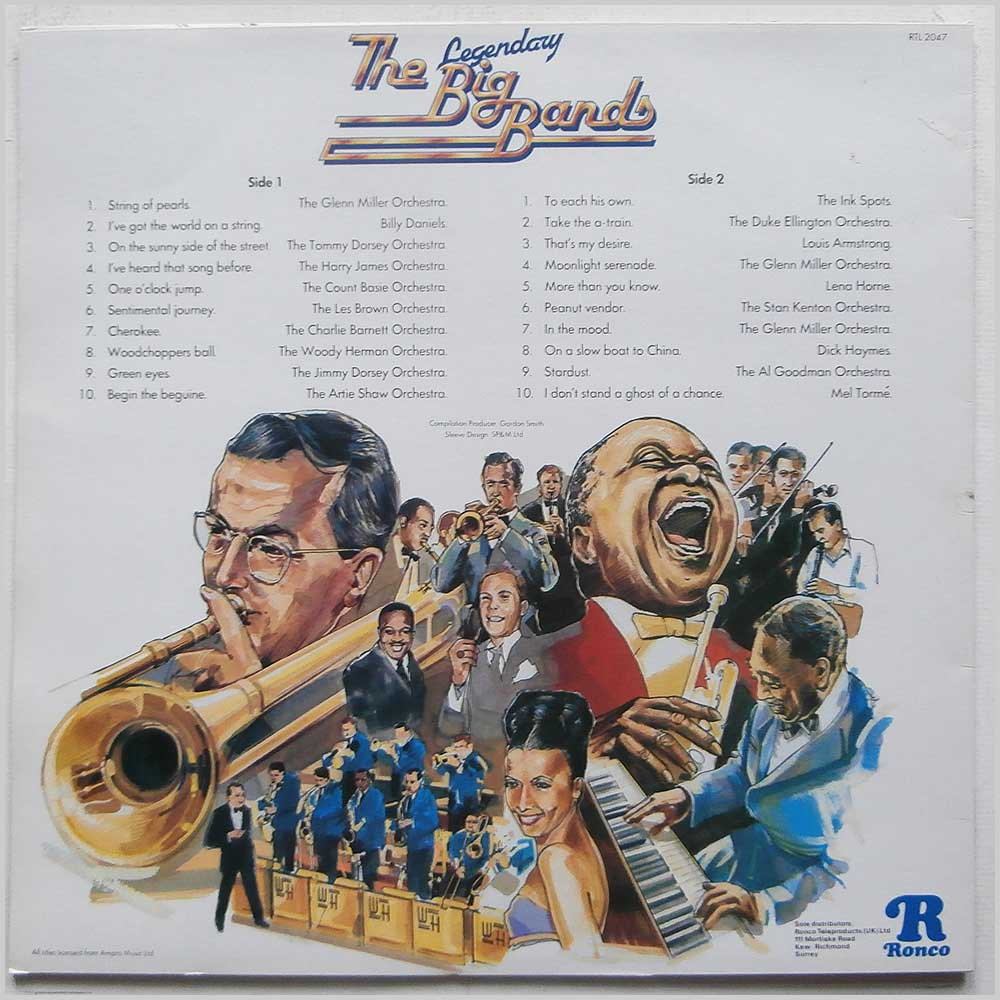 Various - The Legendary Big Bands (RTL 2047)