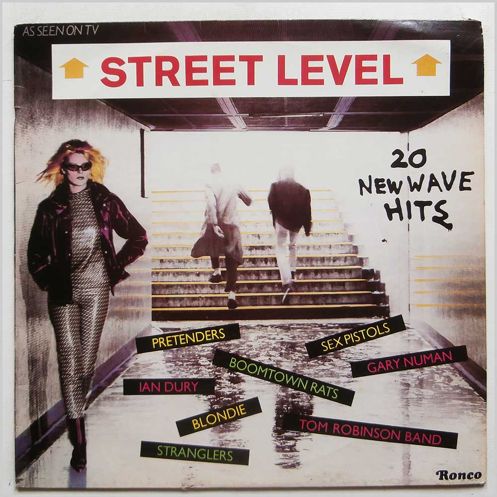 Various - Street Level: 20 New Wave Hits (RTL 2048)