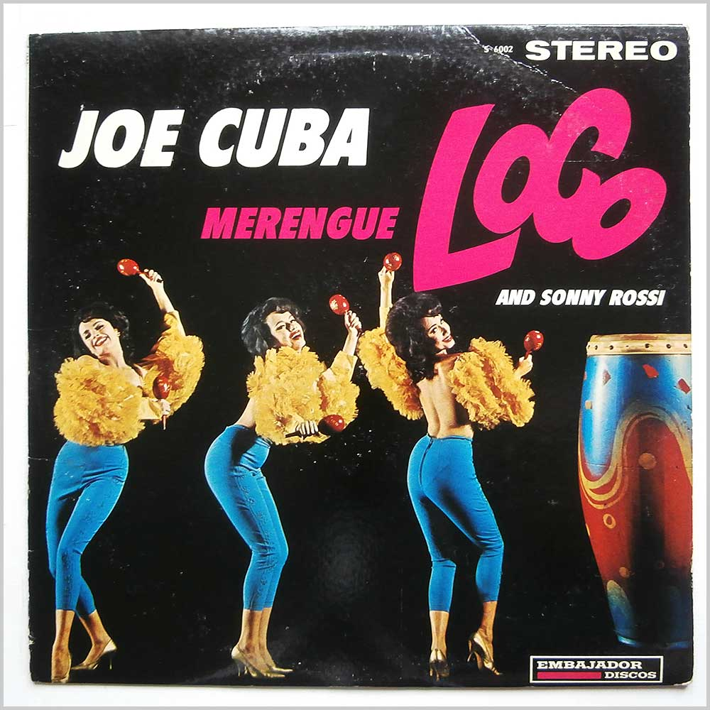 Joe Cuba and Sonny Rossi - Merengue Loco (S 6002)