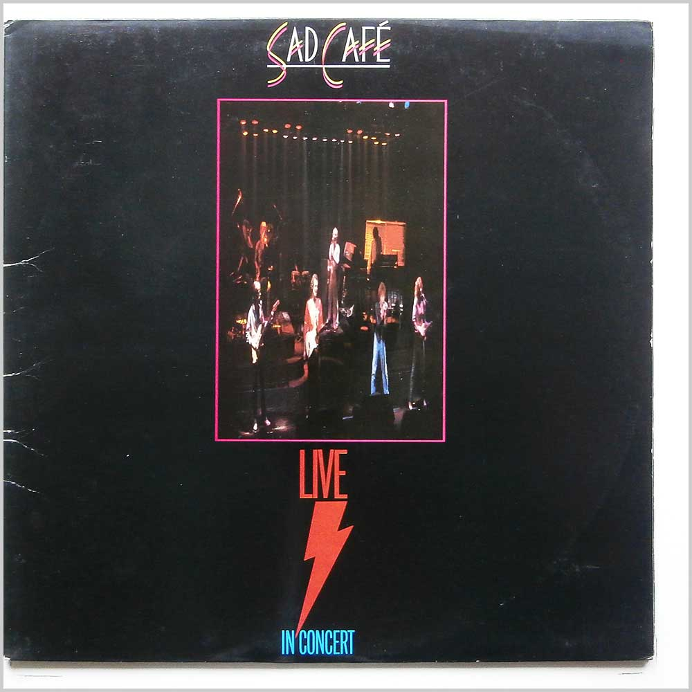 Sad Cafe - Live In Concert (SAD LP 5)