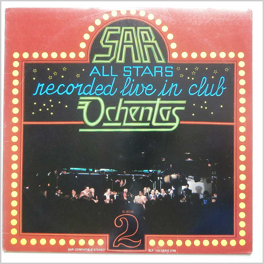 SAR All Stars - Sar All Stars Recorded Live In Club Ochentas Vol 2 (SAR 1022)