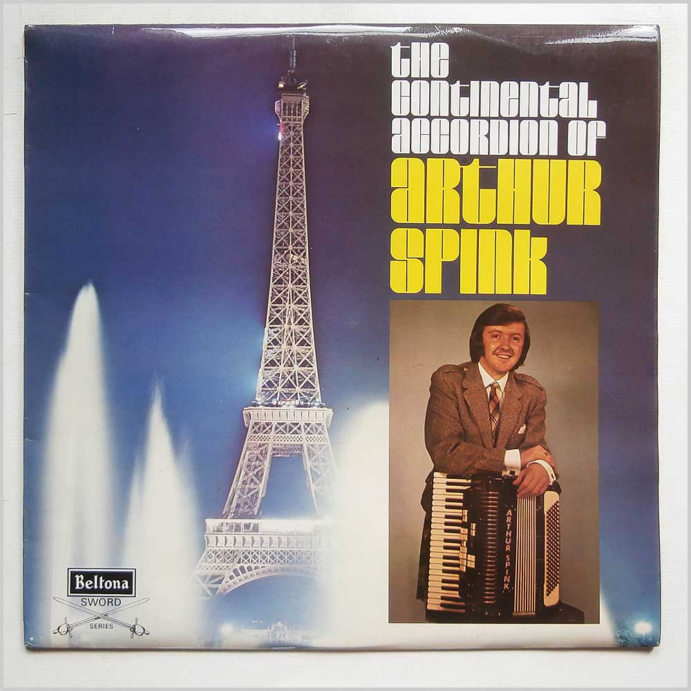 Arthur Spink - The Continental Accordion of Arthur Spink (SBE 142)