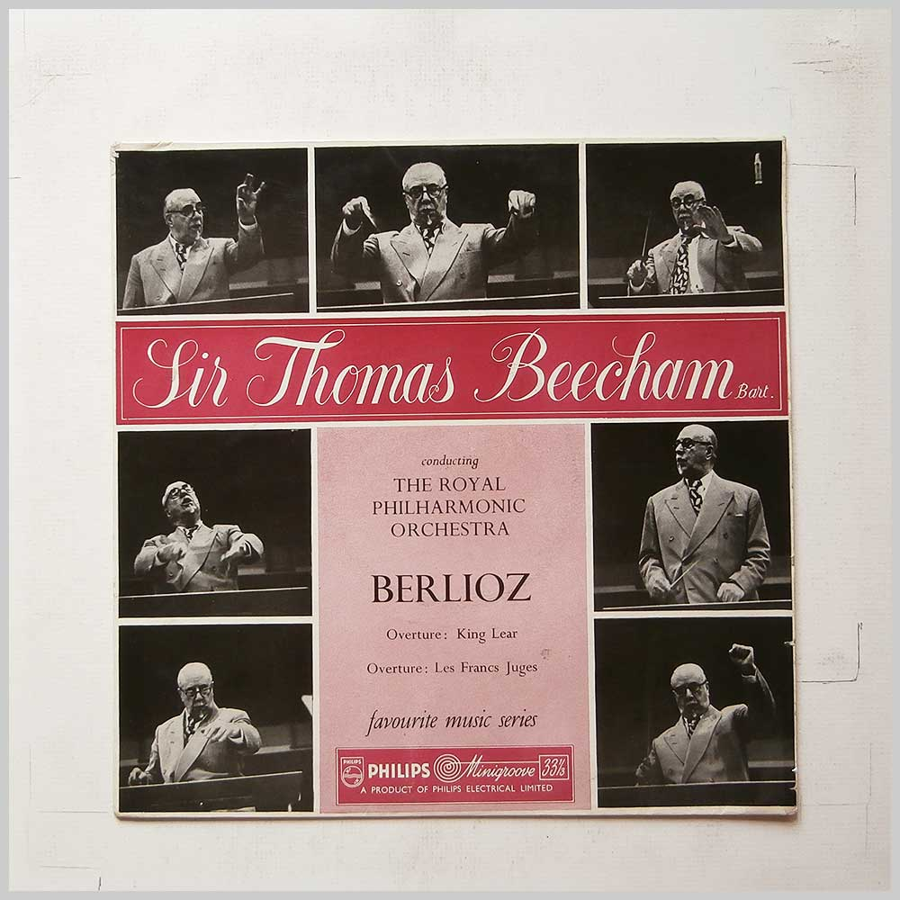 Sir Thomas Beecham, The Royal Philharmonic Orchestra - Berlioz Overture: King Lear, Overture: Les Francs Juges (SBR 6243)