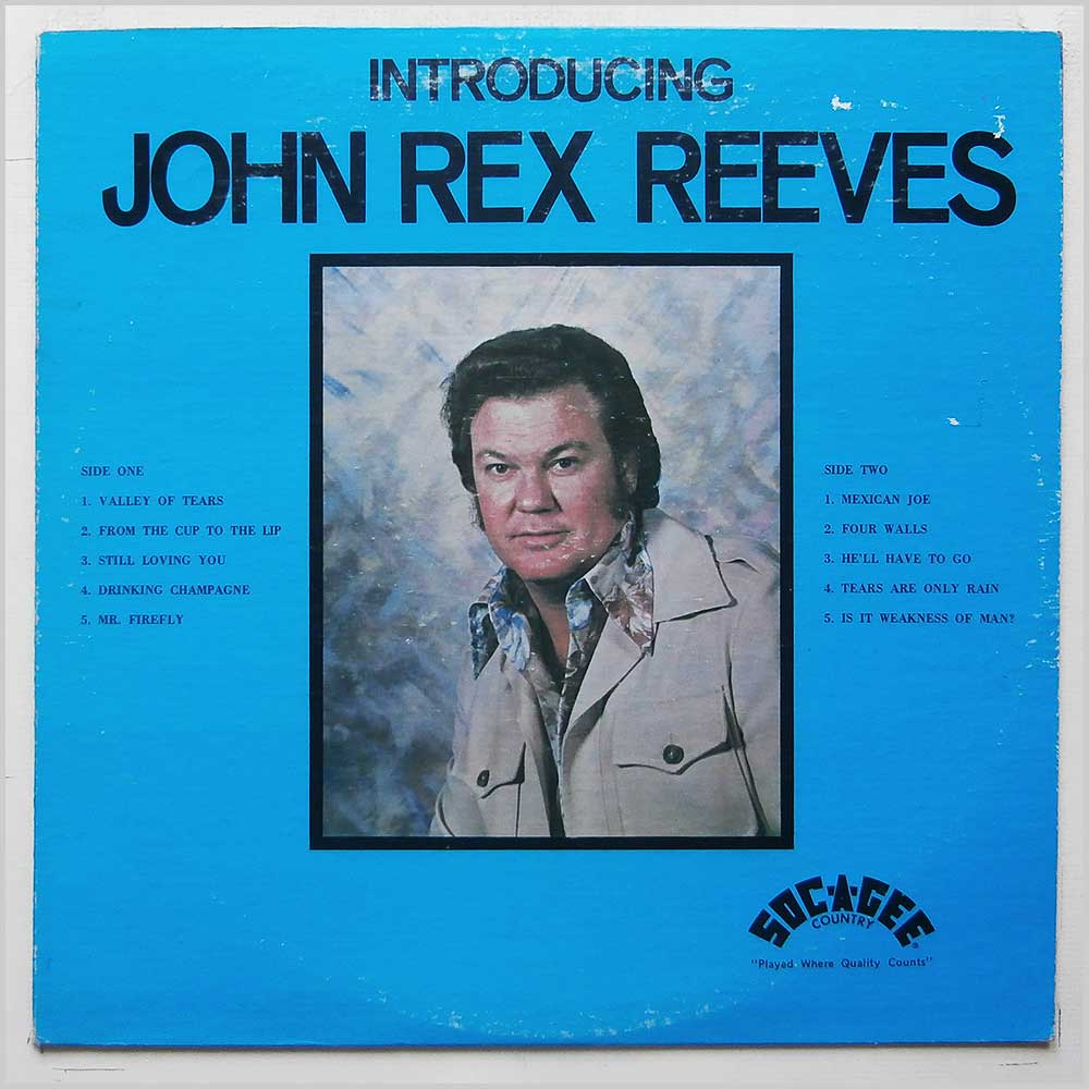 John Rex Reeves - introducing John Rex Reeves (SC 201)