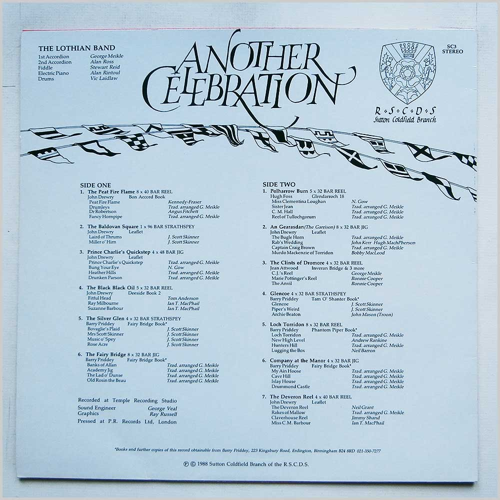 The Lothian Band - Another Celebration (SC3)