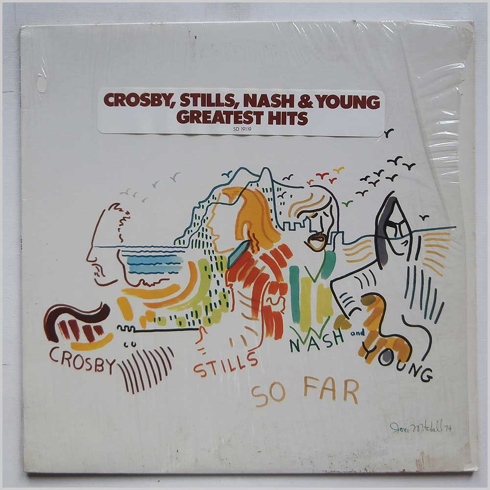 Crosby, Stills Nash and Young - So Far (SD 19119)