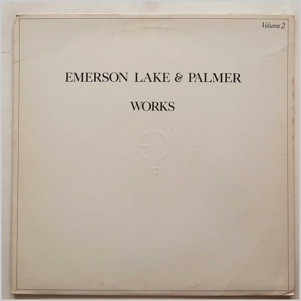 Emerson Lake and Palmer - Works Volume 2 (SD 19147)