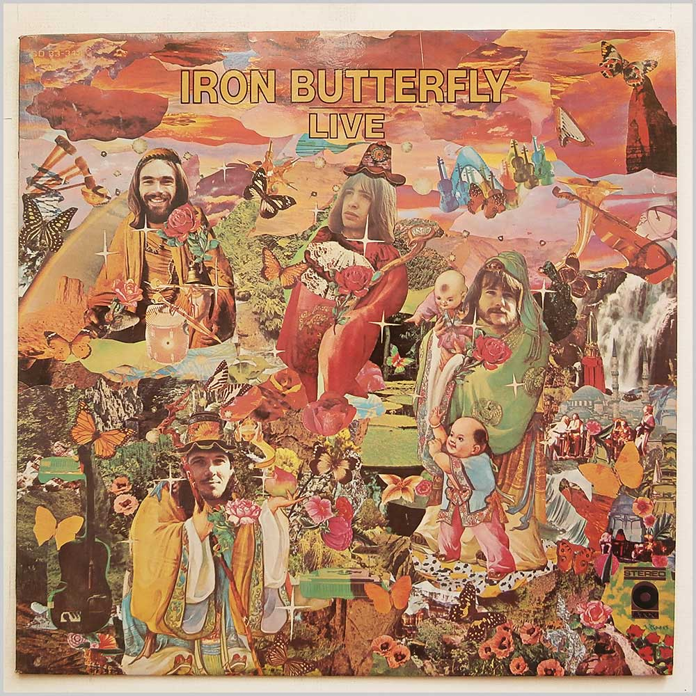 Iron Butterfly - Iron Butterfly Live (SD 33-318)