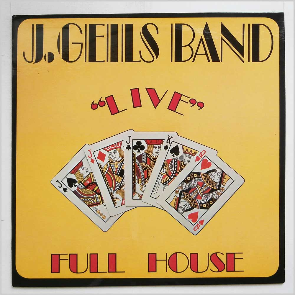The J. Geils Band - Live Full House (SD 7241)