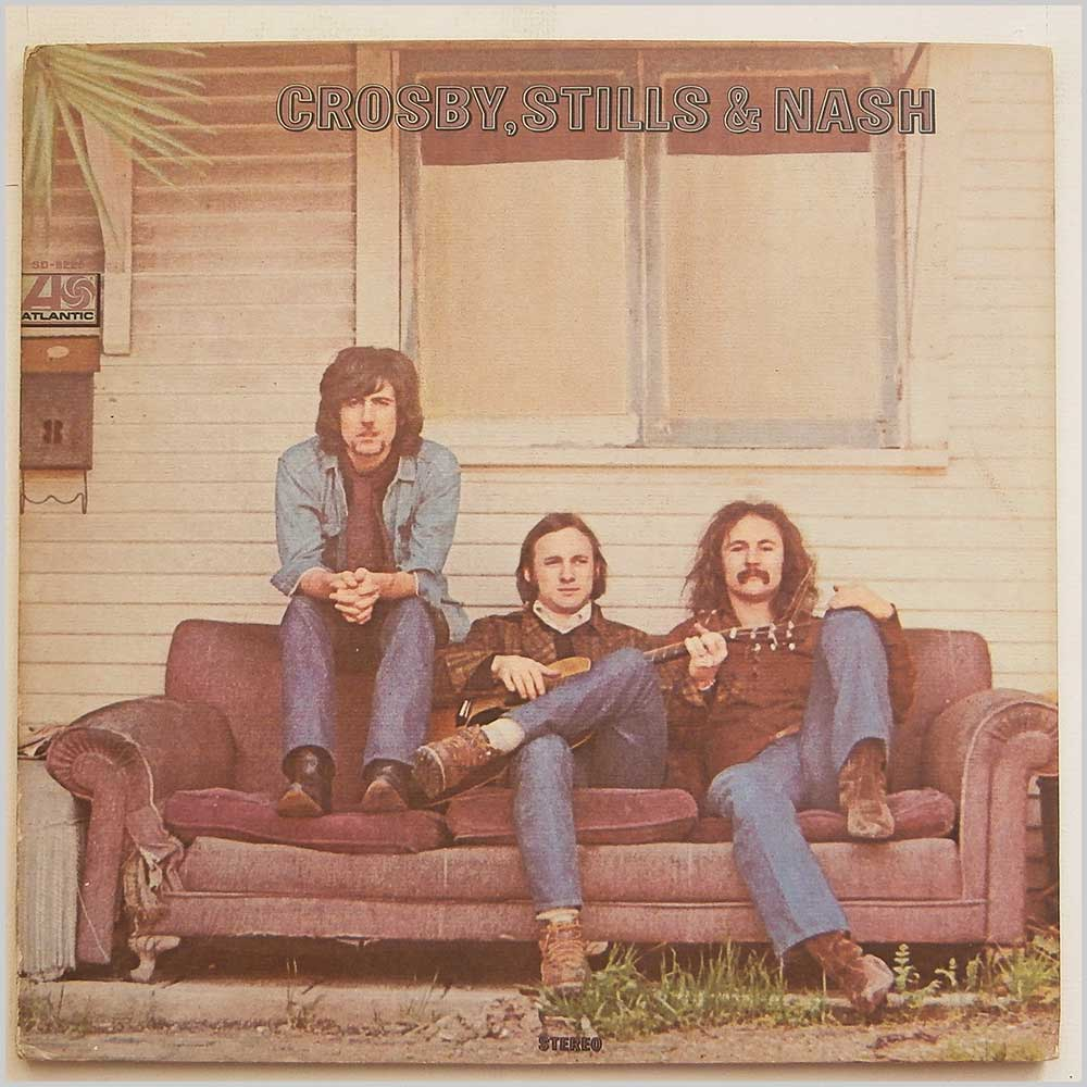 Crosby, Stills and Nash - Crosby, Stills and Nash (SD 8229)
