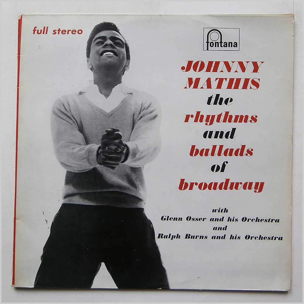 Johnny Mathis - The Rhythms And Ballads Of Broadway (SET S101 A-B)