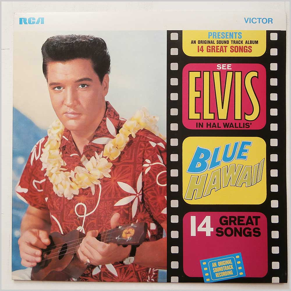 Elvis Presley - Blue Hawaii (SF 8145)