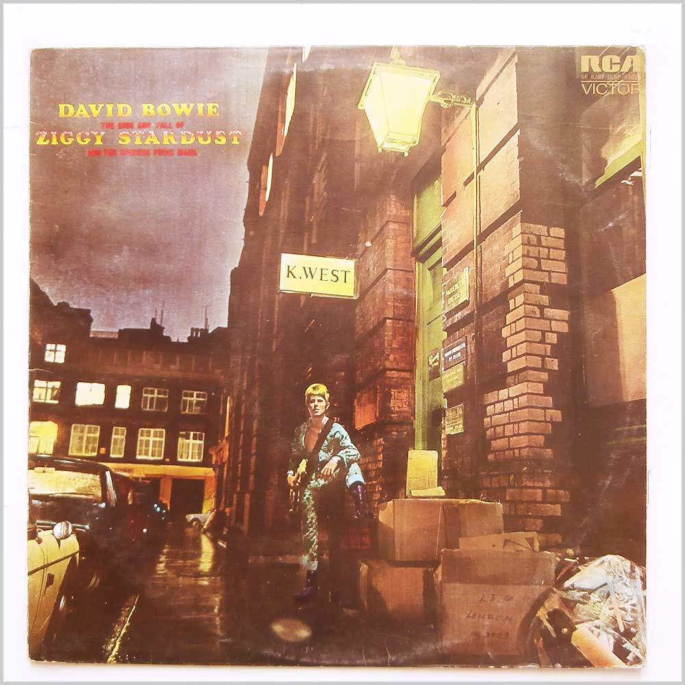 David Bowie - The Rise And Fall Of Ziggy Stardust And The Spiders From Mars (SF 8287)