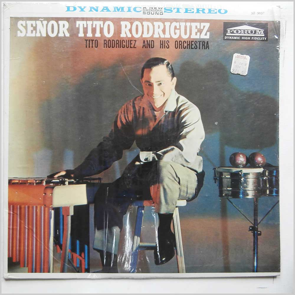 Tito Rodriguez and His Orchestra - Senor Tito Rodriguez (SF 9037)