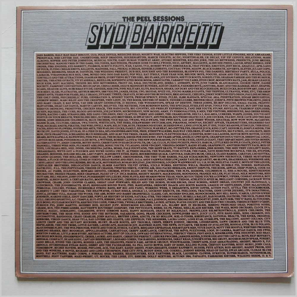 Syd Barrett - The Peel Sessions (SFPS043)