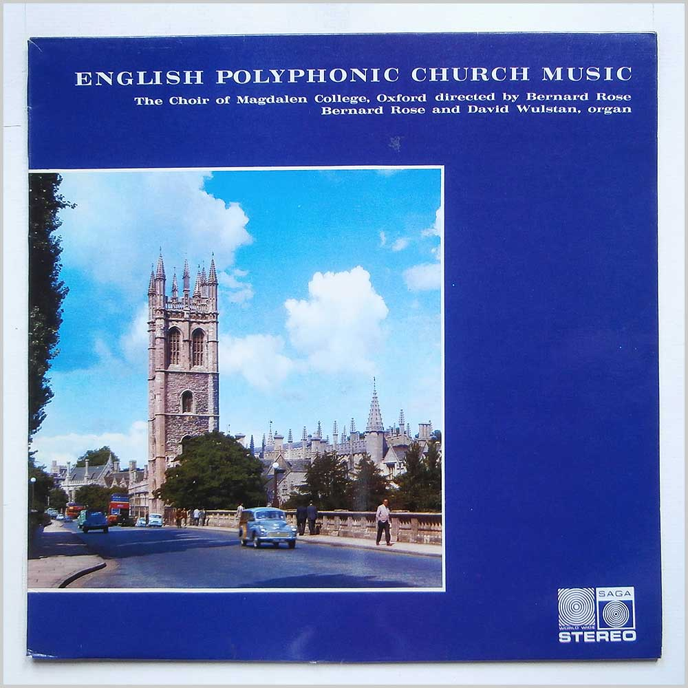 The Choir Of Magdalen College, Oxford - English Polyphonic Church Music (SGA 5287)