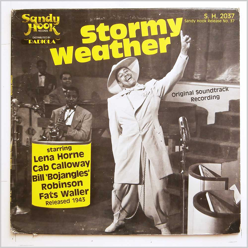 Lena Horne, Cab Calloway, Bill Bojangles Robinson, Fats Waller - Stormy Weather (S.H. 2037)