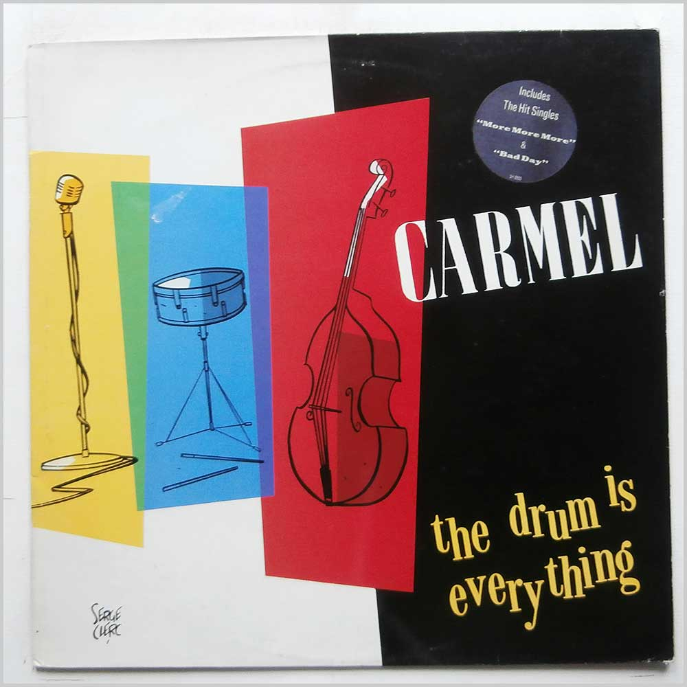 Carmel - The Drum Is Verything (SH 8555)