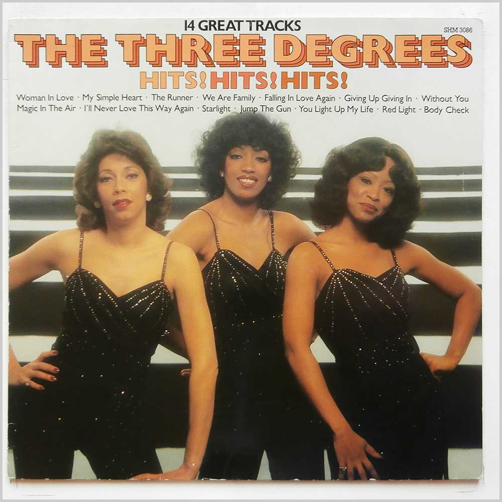 The Three Degrees - Hits! Hits! Hits! (SHM 3086)