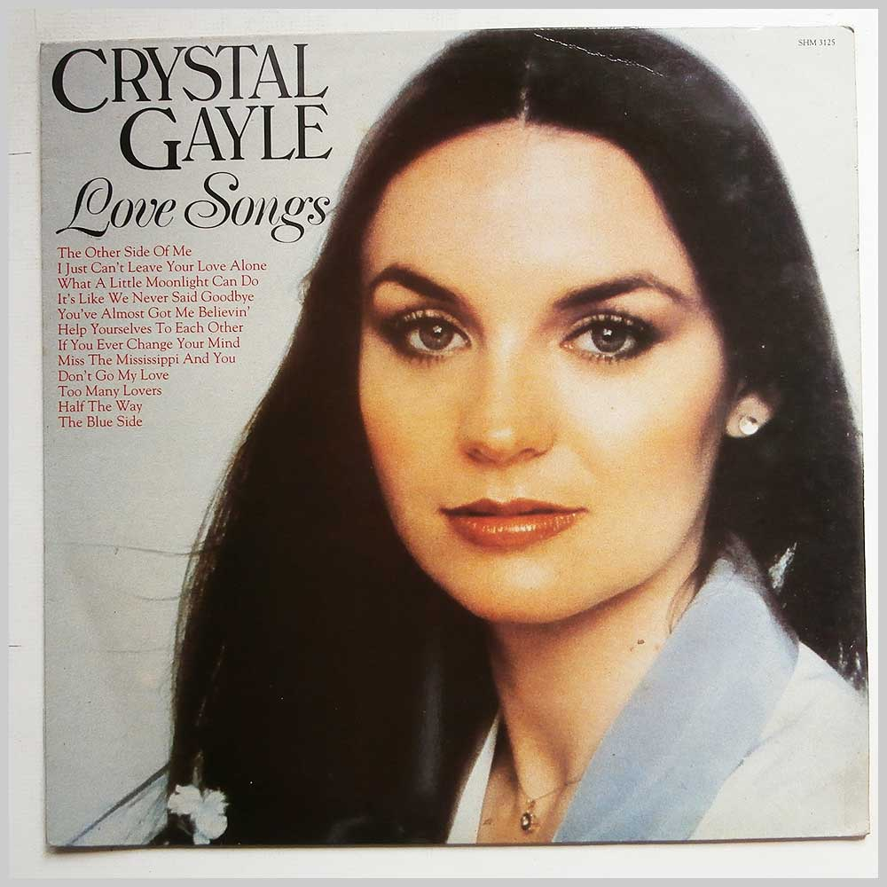 Crystal Gayle - Love Songs (SHM 3125)