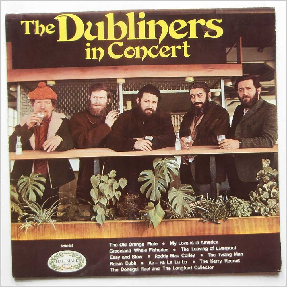 The Dubliners - The Dubliners In Concert (SHM 682)