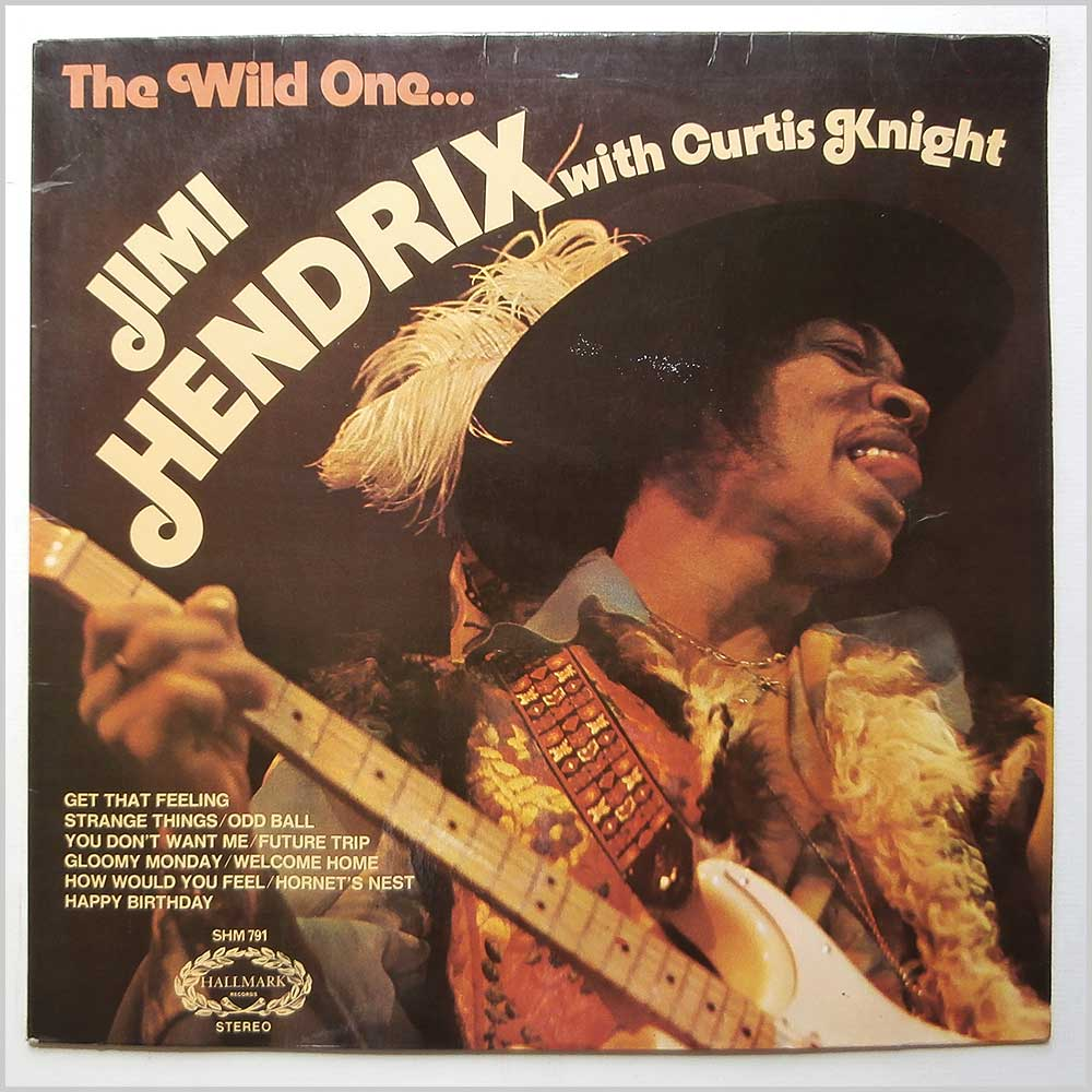 Jimi Hendrix - The Wild One (SHM 791)