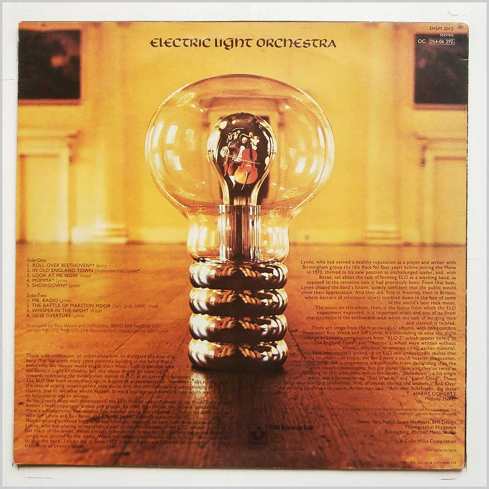 Electric Light Orchestra - The Light Shines On (SHSM 2015)