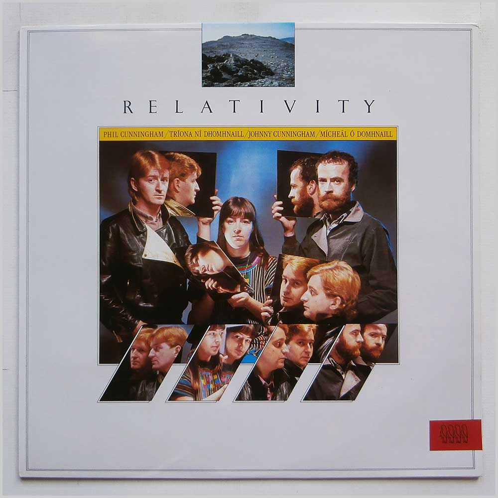 Phil Cunningham, Triona Dhomhnaill, Johnny Cunningham, Micheal O Domhnaill - Relativity (SIF 1059)