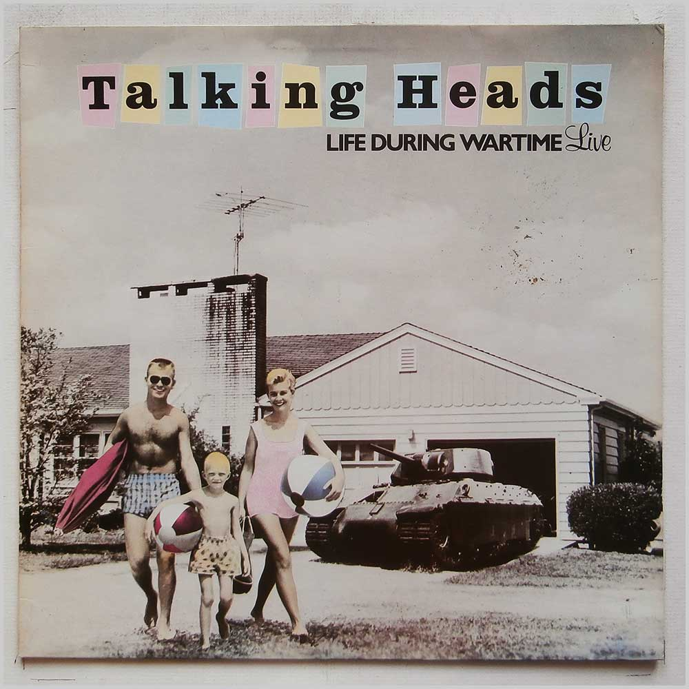 Talking Heads - Life During Wartime (Live) (SIR 4055T)