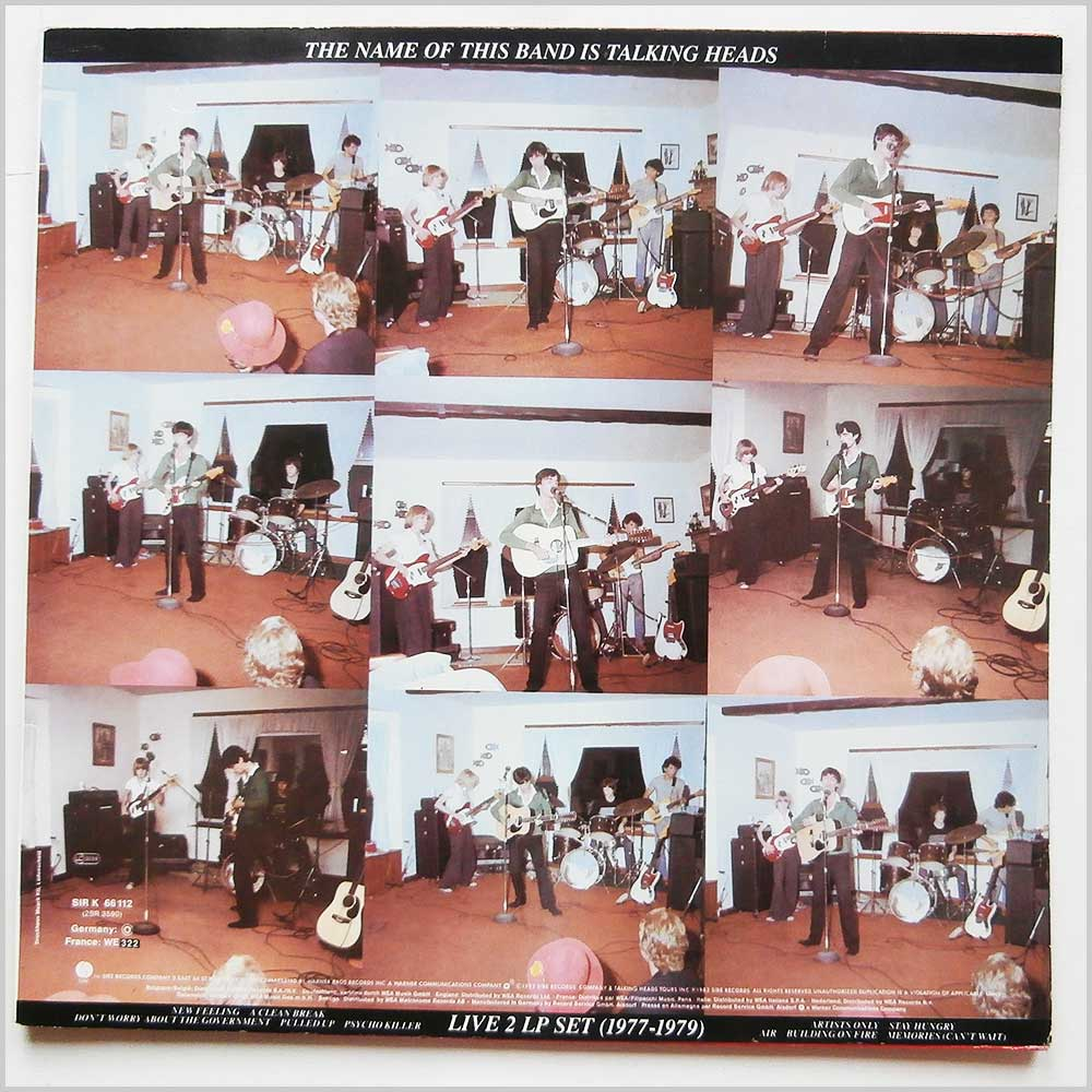 Talking Heads - The Name Of This Band Is Talking Heads (SIR K 66 112)
