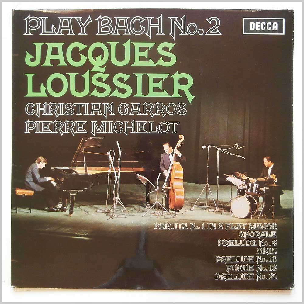 Jacques Loussier - Play Bach No. 2 (SKL 5023)