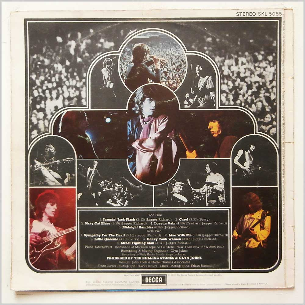 The Rolling Stones - Get Yer Ya-Ya's Out! The Rolling Stones in Concert (SKL 5065)