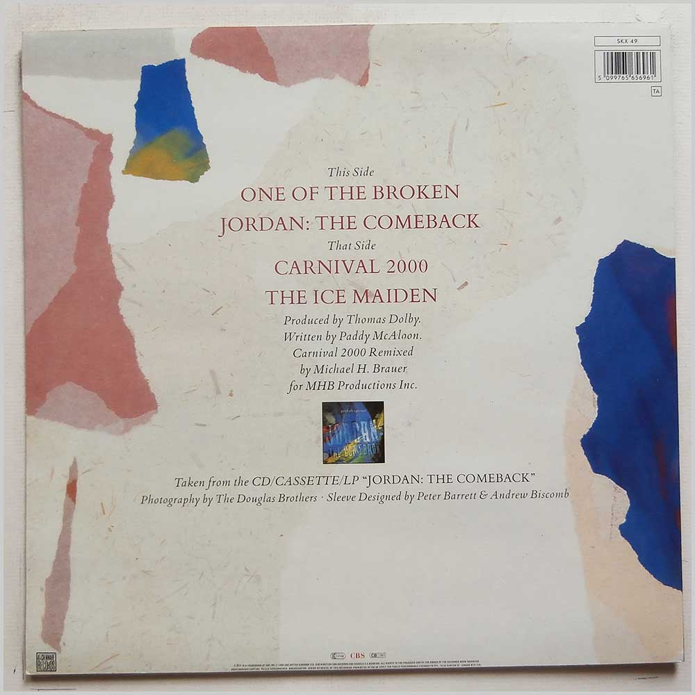 Prefab Sprout - Jordan: The EP (SKX 49)