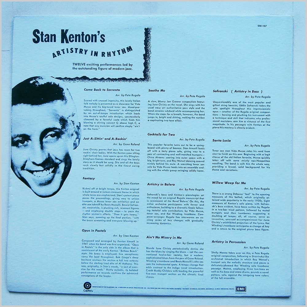 Stan Kenton - Artistry In Rhythm (SM-167)