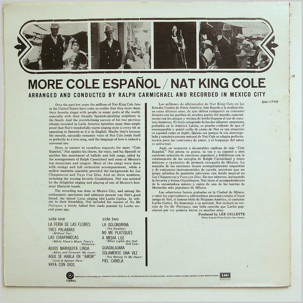 Nat King Cole - More Cole Espanol (SM-1749)