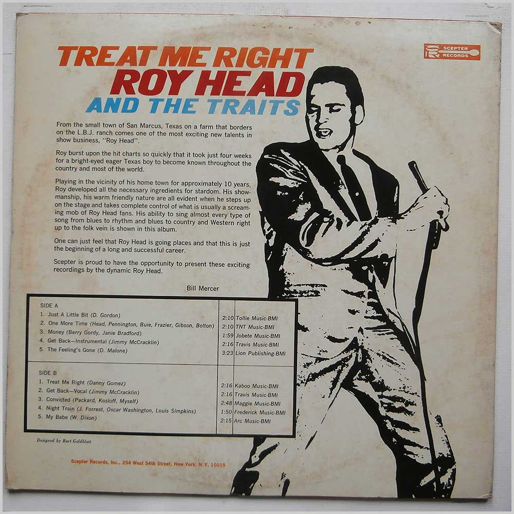 Roy Head - Treat Me Right (SM 532)