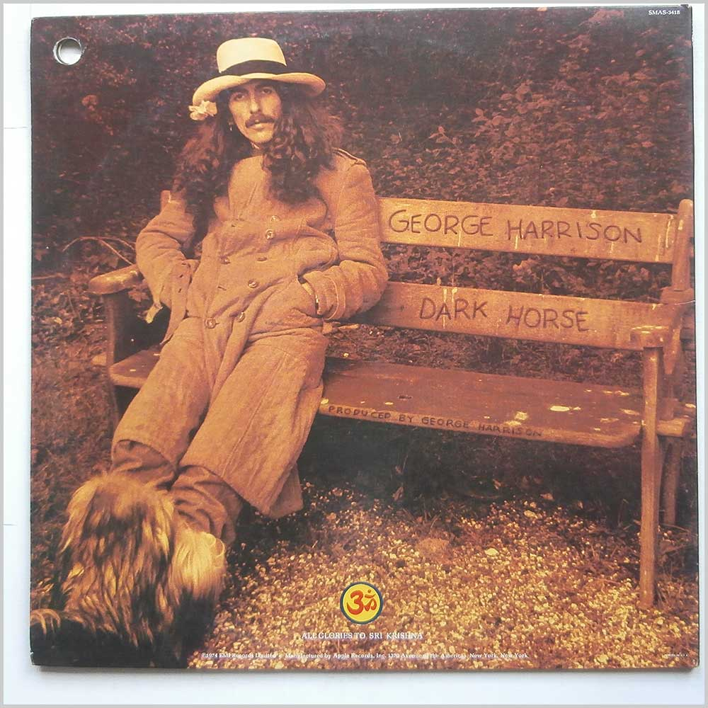George Harrison - Dark Horse (SMAS-3418)
