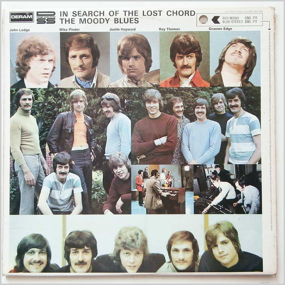 The Moody Blues - In Search Of The Lost Chord (SML 711)